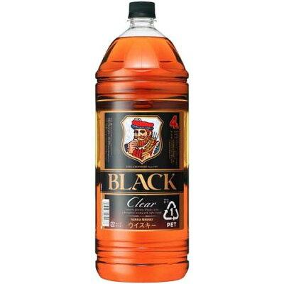 ブラックニッカクリア ペットボトル4L
