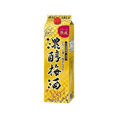 アサヒ 濃醇梅酒 紙 1.8L