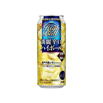 アサヒビール ニッカ淡麗辛口ハイボール缶500ml