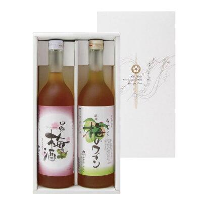 中野BC 中野梅酒/梅のワインセット NW-24 720X2