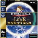 NEC  LifeEホタルックスリム 丸形スリム蛍光灯 34形 昼光色 FHC34ED-LE-SHG
