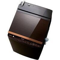 TOSHIBA 縦型洗濯乾燥機 ZABOON AW-10VH1(T)