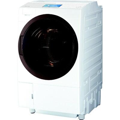 TOSHIBA ZABOON ドラム式洗濯乾燥機  TW-127X8L(W)