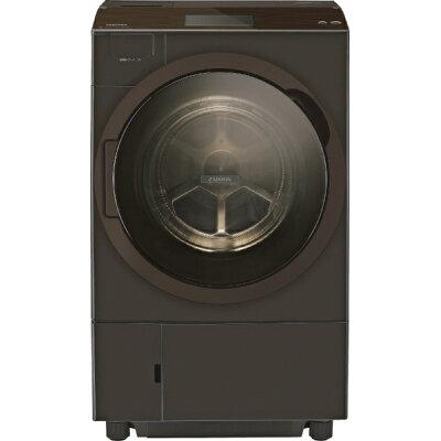 TOSHIBA ZABOON ドラム式洗濯乾燥機 TW-127X8L(T)