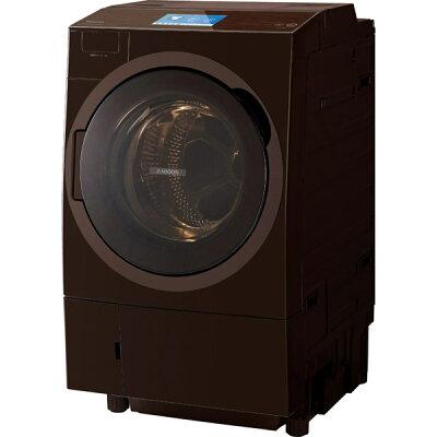 TOSHIBA ZABOON ドラム式洗濯乾燥機  TW-127X8R(T)
