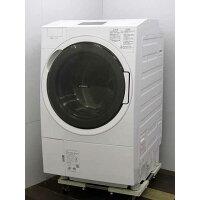 TOSHIBA ドラム式洗濯乾燥機 ZABOON TW-127X9R(W)