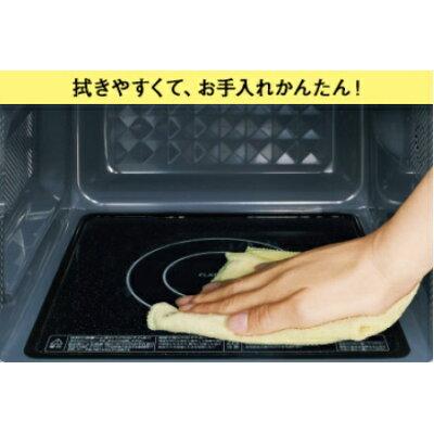 TOSHIBA 石窯オーブン 文字が光って見やすいダイヤル式フラット庫内モデル ER-SM17(W)