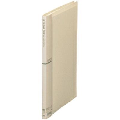 クリアファイル A4-S 10ポケット アイボリー (CF-441-31)
