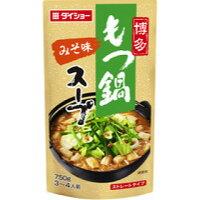 ダイショー 博多もつ鍋スープ みそ味(750g)