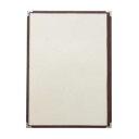 メニューブック クイックメニュー QM-500 茶 B4サイズ 8ページ 業務用