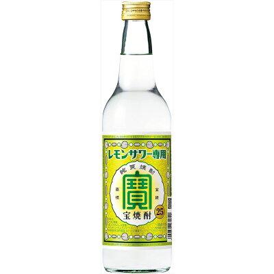 宝酒造 宝焼酎「レモンサワー用」25°600ML