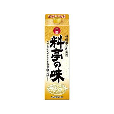 宝酒造 「京寶」料理用合成清酒〈料亭の味〉1.8L紙パック