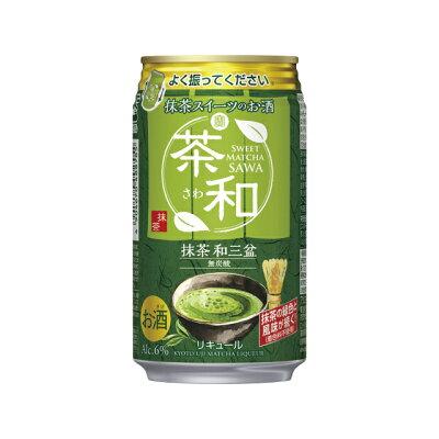宝酒造 寶抹茶スイーツのお酒茶和抹茶和三盆350ML