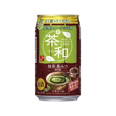 宝酒造 寶抹茶スイーツのお酒茶和抹茶黒みつ350ML