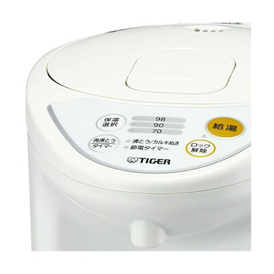 タイガー マイコン電動ポット 3.0L ホワイト PDR-G301W(1台)