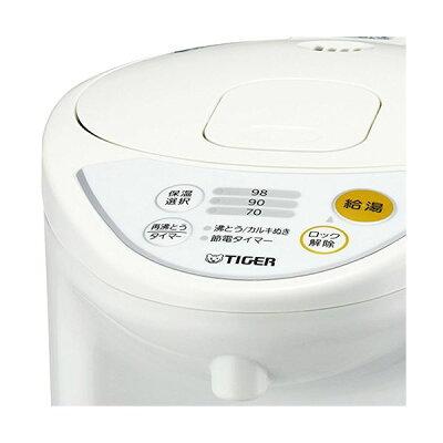 タイガー マイコン電動ポット 4.0L ホワイト PDR-G401W(1台)