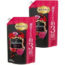 レノアハピネス ヴェルベットローズ&ブロッサムの香り つめかえ用 超特大 1260ml×2個