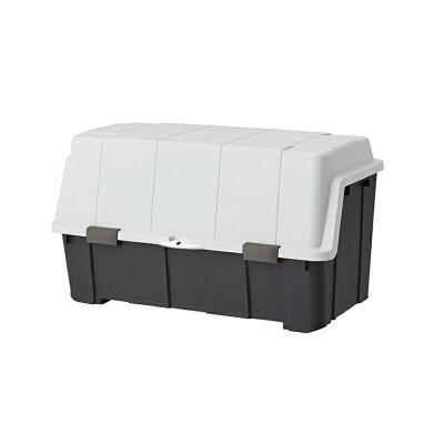 大きく開くコンテナー 140L屋外 収納ボックス ベランダ 灯油缶 収納 ポリタンク 大容量