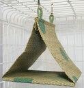 P2 小鳥用い草テント S グリーン 1個