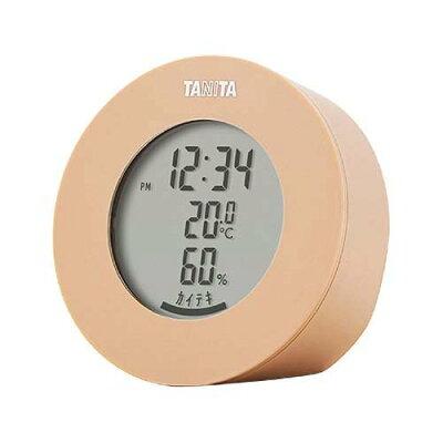 タニタ デジタル温湿度計 ブラウン TT-585-BR(1個)