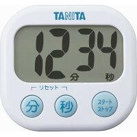 タニタ でか見えタイマー ホワイト TD-384-WH(1台)