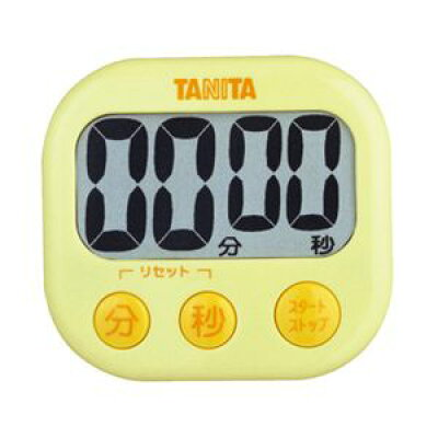 タニタ でか見えタイマー イエロー TD-384-YL(1台)
