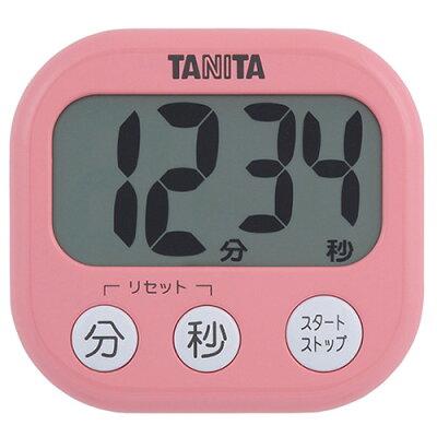 タニタ でか見えタイマー フランボワーズピンク TD-384-PK(1台)