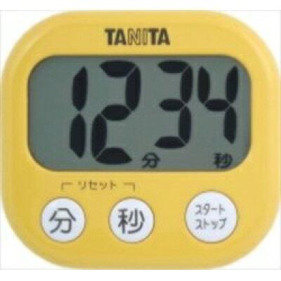 タニタ でか見えタイマー マンゴーイエロー TD-384-MY(1台)