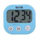 タニタ でか見えタイマー アクアミントブルー TD-384-BL