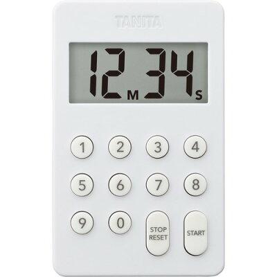 TANITA キッチンタイマー TD-415-WH