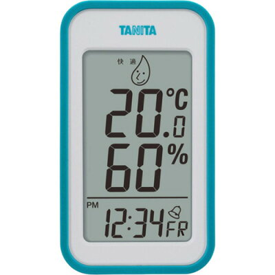 タニタ デジタル温湿度計 ブルー TT-559-BL(1コ入)