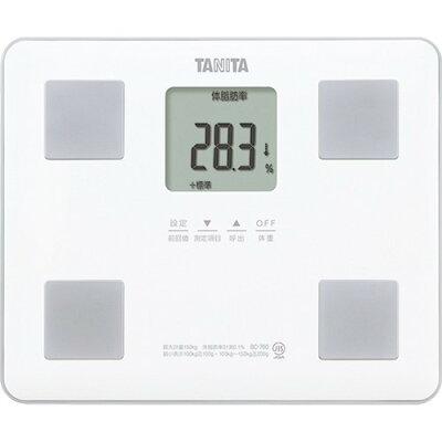 タニタ 体組成計 ホワイト BC-760-WH(1台)