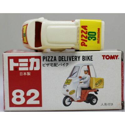 《トミー》トミカ 82 ピザ宅配バイク JAN:4904810293224