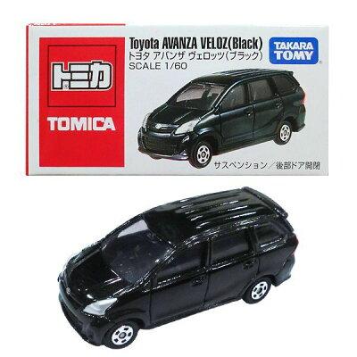 トヨタ アバンザ ヴェロッツ(ブラック) Toyota AVANZA VELOZ(Black)日本語パッケージ TOMICA
