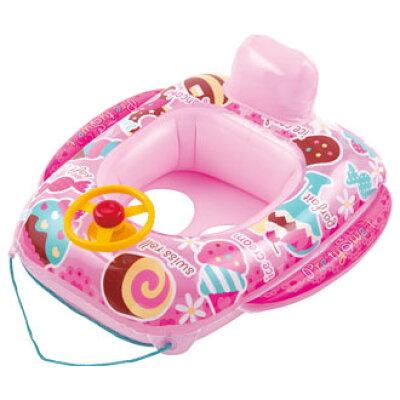 足抜きベビーボート プリティスイーツ   ベビー浮き輪