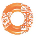 浮き輪   蛍光カラー オレンジ