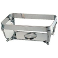 NTEC320 UK18-8バロン角チェーフィング用 スタンド 20インチ 4905001217906