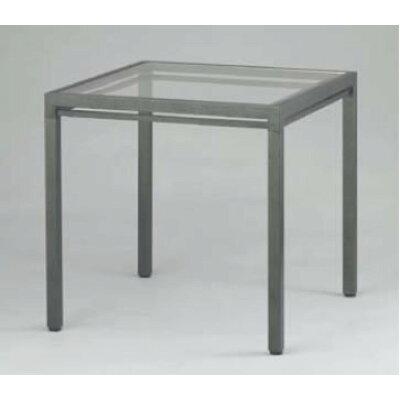 キューブテーブル ハンマーシルバー:AGCCT600(UTCV501)