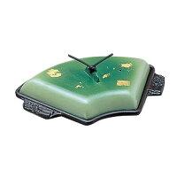アルミ扇陶板鍋金彩緑