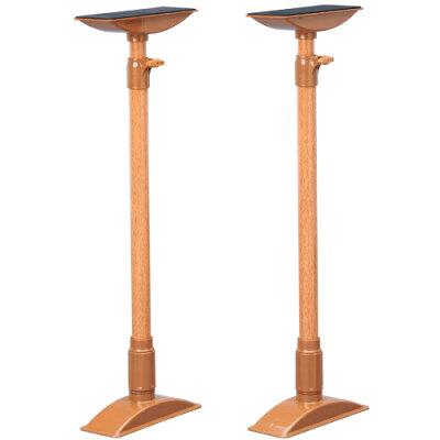 家具転倒防止伸縮棒 LKTB-60 ブラウン
