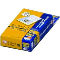 アイリスオーヤマ ラミネートフィルム IDカードサイズ 100枚入 100μ LZ-ID100