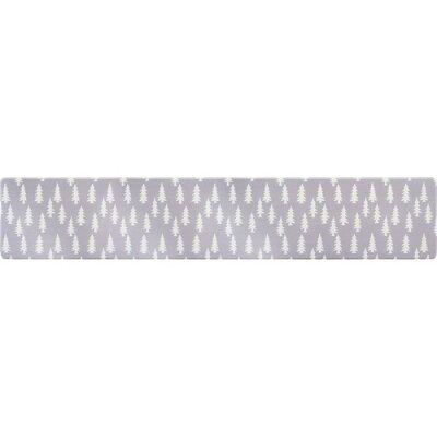 拭ける北欧風PVCキッチンマット 45*240cm 8mm厚 ウッズ(1枚)