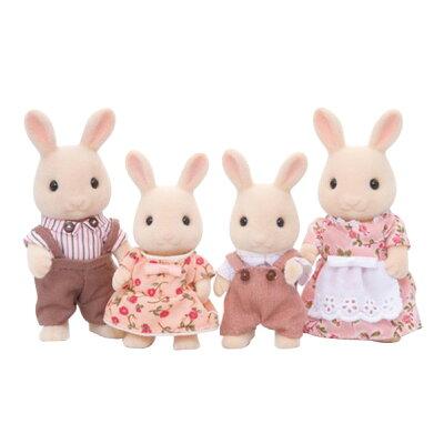 シルバニアファミリー ウサギ ファミリー シリーズ  みるくウサギ(1セット)