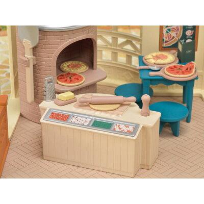 シルバニアファミリー ミ-87 森のピザ屋さん(1セット)