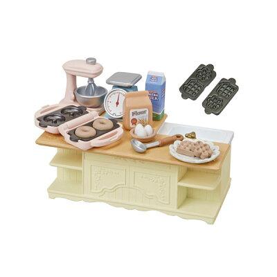 シルバニアファミリー カ-423 アイランドキッチン(1セット)