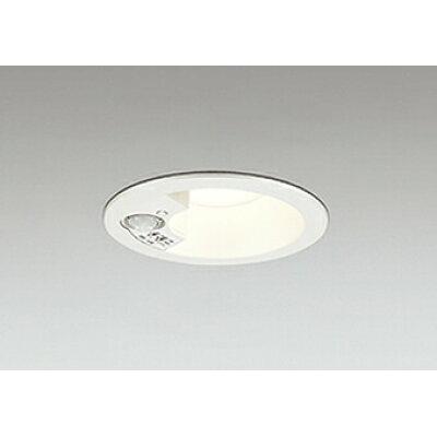 オーデリック LEDエクステリアダウンライト(軒下用)(白熱灯100Wクラス)埋込穴φ100人感センサ・モード切替型電球色:OD261838(DL)