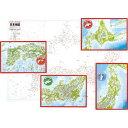ピクチュアパズル 日本地図 75ピース 5才から 20-06