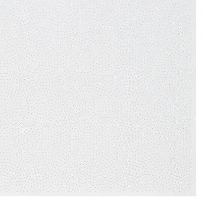 色鳥の子紙 シルク印刷鮫絞り 白×パール 336-ロ