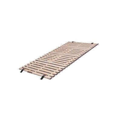 KKF-80 オスマック 軽量桐すのこベッド4つ折れ式 セミシングル すのこベッド KKF80オスマツク