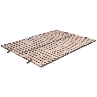 KKF-410 オスマック 軽量桐すのこベッド4つ折れ式 ダブル すのこベッド KKF410オスマツク